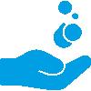 Hände regelmäßig waschen und desinfizieren auch auf dem Bodensee.